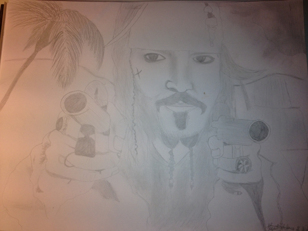 Johnny Depp by Margalith